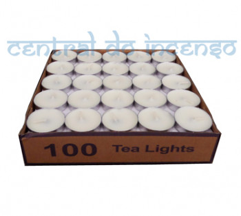 Caixa com 100 Velas Brancas