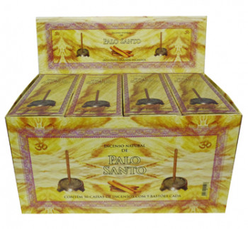 Incenso Natural de Palo Santo (caixa com 50)