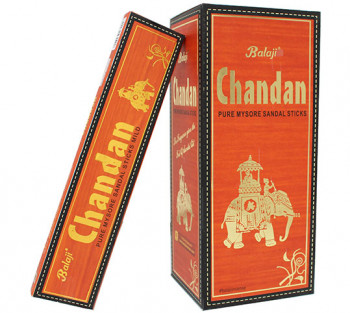 Chandan Balaji - Incenso Indiano Premium (valor unitário)