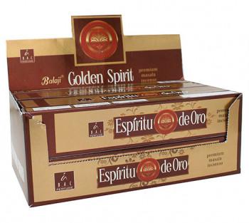 Golden Spirit Balaji - Incenso Indiano Massala (valor unitário)