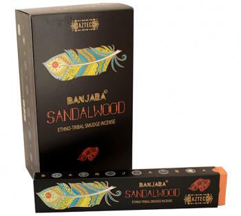 Banjara Sandalwood - Incenso Indiano (valor unitário)