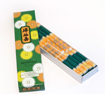 HOSSENKO - Incenso em Bastonete para Meditação (caixa com 10 maços)