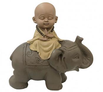 Monge no Elefante (modelos e cores variados) - 13 cm