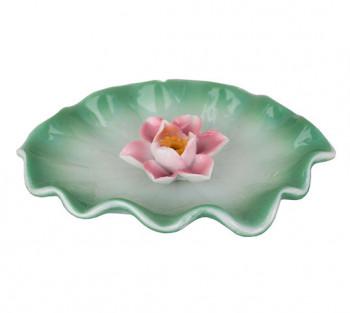 Incensario F de Lotus Rosa - 11cm