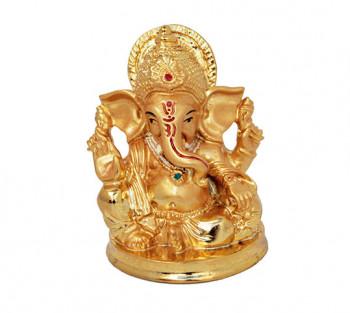 Ganesha Dourado - 8,5cm
