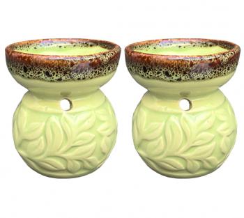 2 Rechos Vaso Verde - 7cm