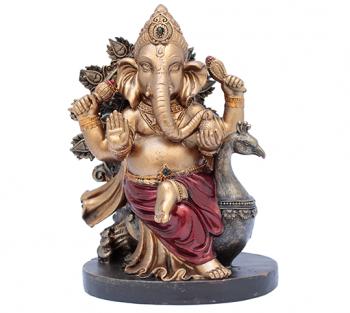 Ganesha Bronzeado - 19cm