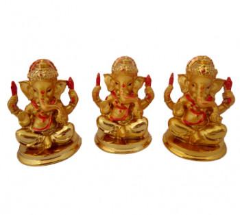 Kit 3 Ganeshas