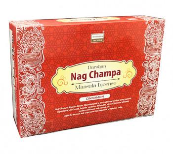"""NAG CHAMPA """"Canela"""" - Incenso Indiano Darshan"""