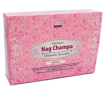 "NAG CHAMPA ""Orquidea"" - Incenso Indiano Darshan"