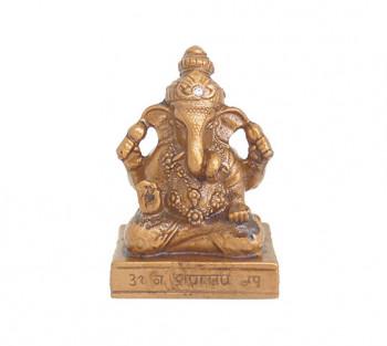 Ganesha Dourado - 7,5 cm