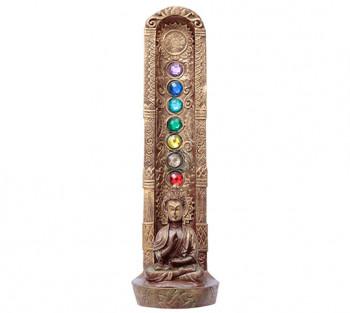 Incensário de Resina Chakras Budha 118
