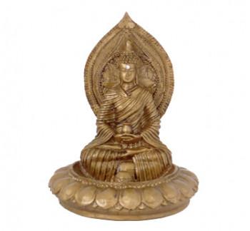 Incensario de Resina Budha - 14cm