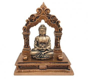 Incensário Portal Budha - 12cm x 10cm