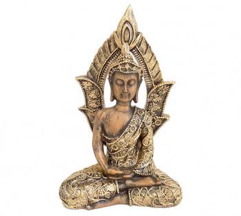 Budha com Portal - 18cm