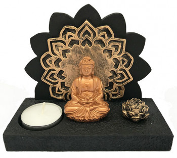Incensário / P. Vela de Resina Budha