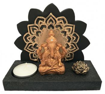 Incensário / P. Vela de Resina Ganesha