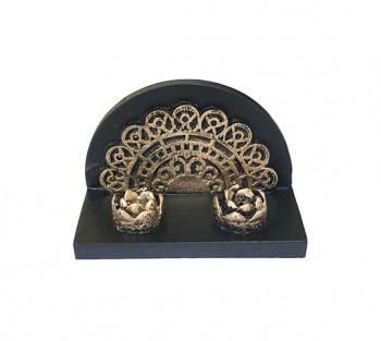 Incensário Mini Portal Mandala - 5cm x 7,5cm