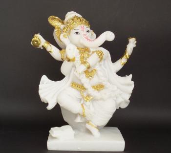 Ganesha Branco - 21cm
