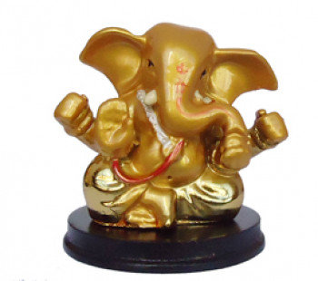 Ganesha (base redonda) - 7cm