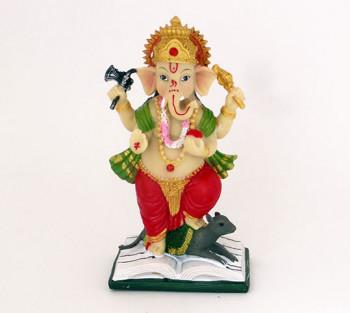 Ganesha Colorido - 13cm
