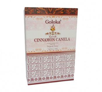 GOLOKA AYURVEDIC CANELA - Incenso Indiano de Massala