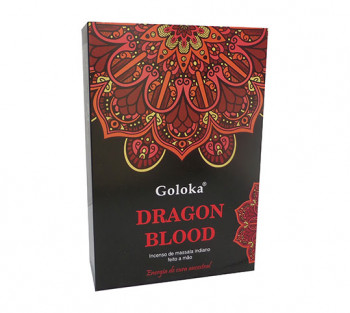 GOLOKA DRAGON BLOOD - Incenso Indiano de Massala