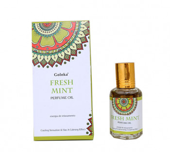 Fresh Mint (Menta) - Óleo Perfumado Indiano (10ml)