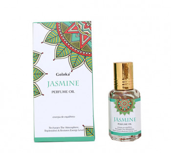 Jasmine - Óleo Perfumado Indiano (10ml)