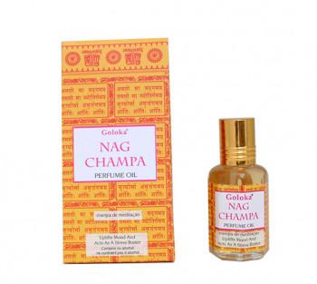 Nag Champa - Óleo Perfumado Indiano (10ml)