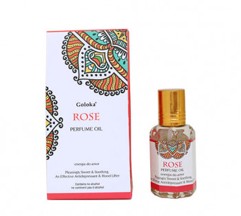 Rosa - Óleo Perfumado Indiano (10ml)