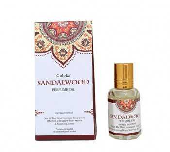 Sandalwood - Óleo Perfumado Indiano (10ml)
