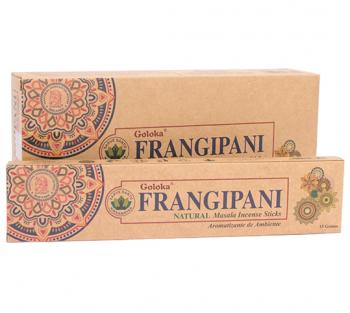 FRANGIPANI - Incenso Natural Indiano de Massala (valor unitario)