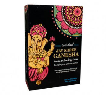 GOLOKA GANESHA - Incenso Indiano de Massala