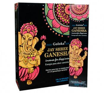 GOLOKA GANESHA - Incenso Indiano de Massala (valor unitário)