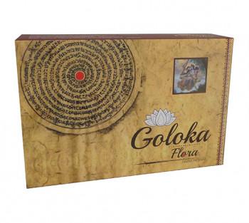 GOLOKA FLORA - Incenso Indiano de Massala