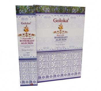 GOLOKA AYURVEDIC ALECRIM - Incenso Indiano de Massala (valor unitário)