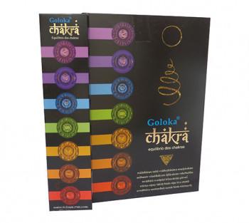 GOLOKA CHAKRA - Incenso Indiano de Massala (valor unitário)
