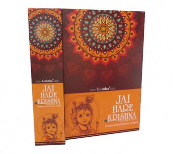 JAI HARE KRISHNA - Incenso Indiano de Massala (valor unitário)