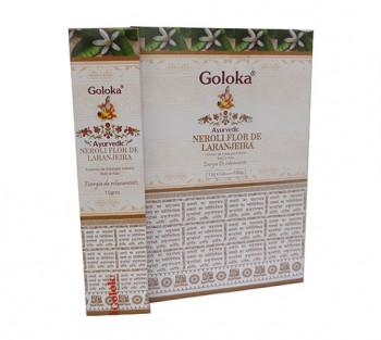 GOLOKA AYURVEDIC LARANJEIRA - Incenso Indiano de Massala (valor unitário)