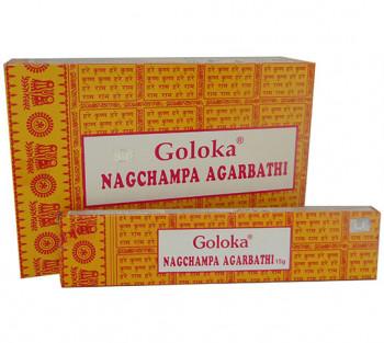 GOLOKA NAG CHAMPA  - Incenso Indiano de Massala (valor unitário)