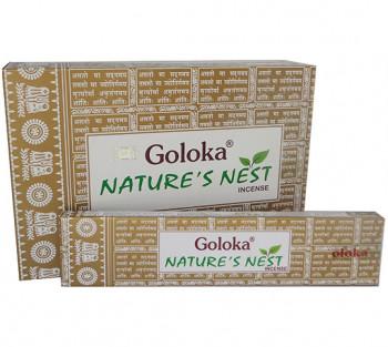 GOLOKA NATURE'S NEST - Incenso Indiano de Massala (valor unitário)