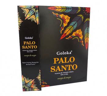 GOLOKA PALO SANTO - Incenso Indiano de Massala (valor unitário)