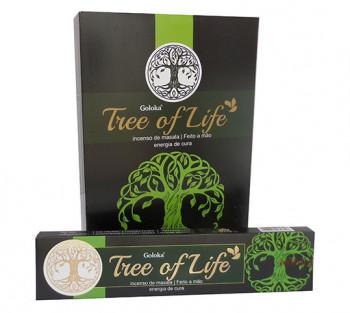 GOLOKA TREE OF LIFE - Incenso Indiano de Massala (valor unitário)