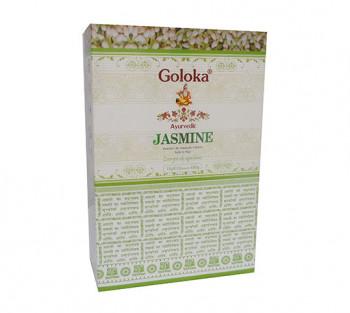 GOLOKA AYURVEDIC JASMINE - Incenso Indiano de Massala