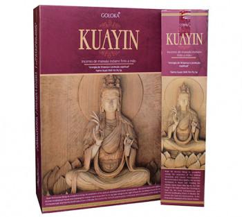 GOLOKA KUANYIN - Incenso Indiano de Massala (valor unitário)