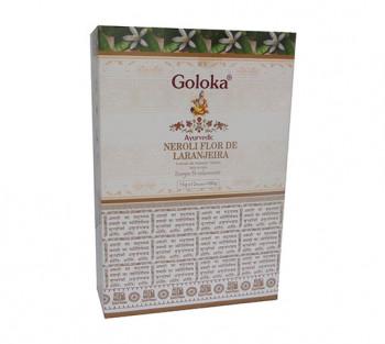 GOLOKA AYURVEDIC LARANJEIRA - Incenso Indiano de Massala
