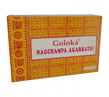 GOLOKA NAG CHAMPA - Incenso Indiano de Massala