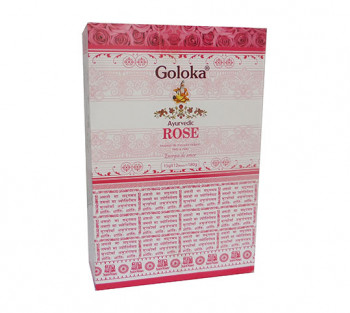 GOLOKA AYURVEDIC ROSE - Incenso Indiano de Massala