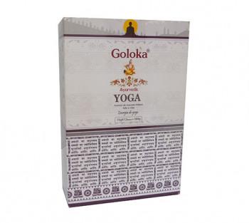 GOLOKA AYURVEDIC YOGA - Incenso Indiano de Massala